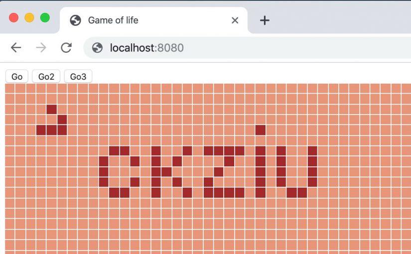 Programujemy grę w życie